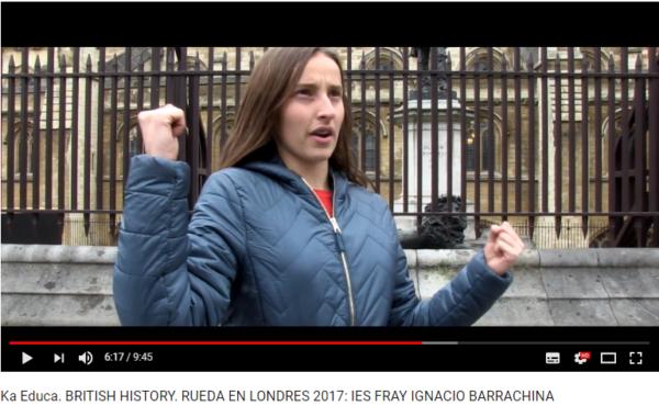 Muestra de cómo se trabaja en el Curso de verano inglés y cine Londres para jóvenes con becas